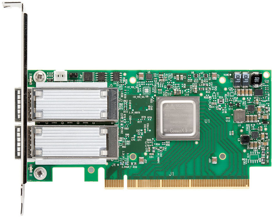 Mellanox ConnectX dual-port IB adapter