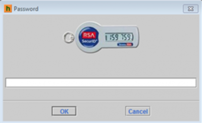 Password dialog with LLNL RSA token picture