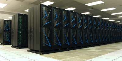 Sierra Supercomputer sideview