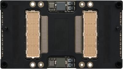 NVIDIA Tesla P100 with Pascal GP100 GPU back