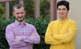 Cosmin Petra and Ignacio Aravena