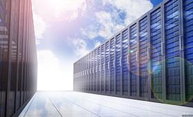 Hybrid Cloud Computing concept photo