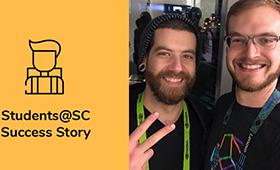 Stephen Herbein is an SC student volunteer success story