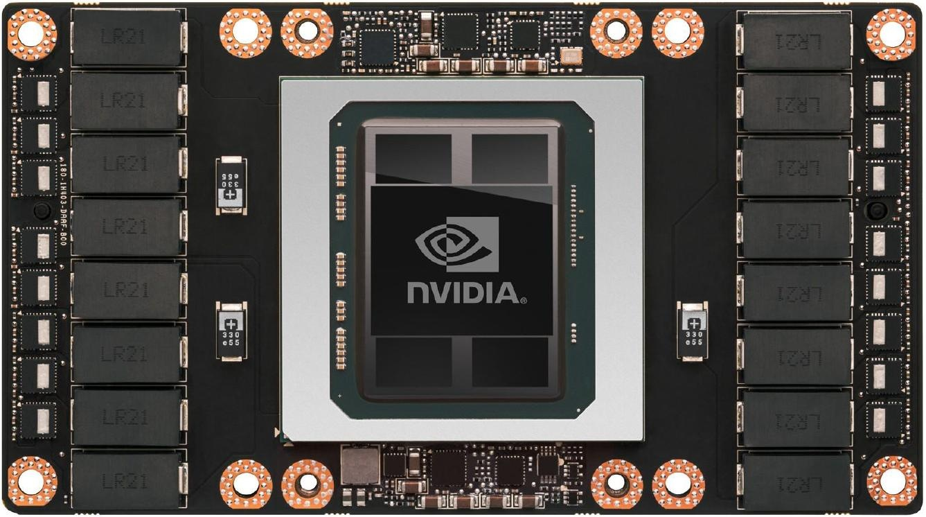 NVIDIA Tesla P100 with Pascal GP100 GPU