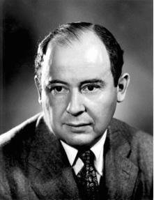 John von Neumann circa 1940s
